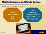 mobile computers and mobile devices39