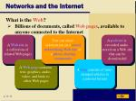 networks and the internet23