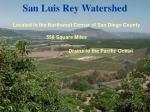 san luis rey watershed