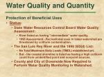 water quality and quantity37