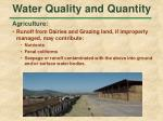 water quality and quantity39