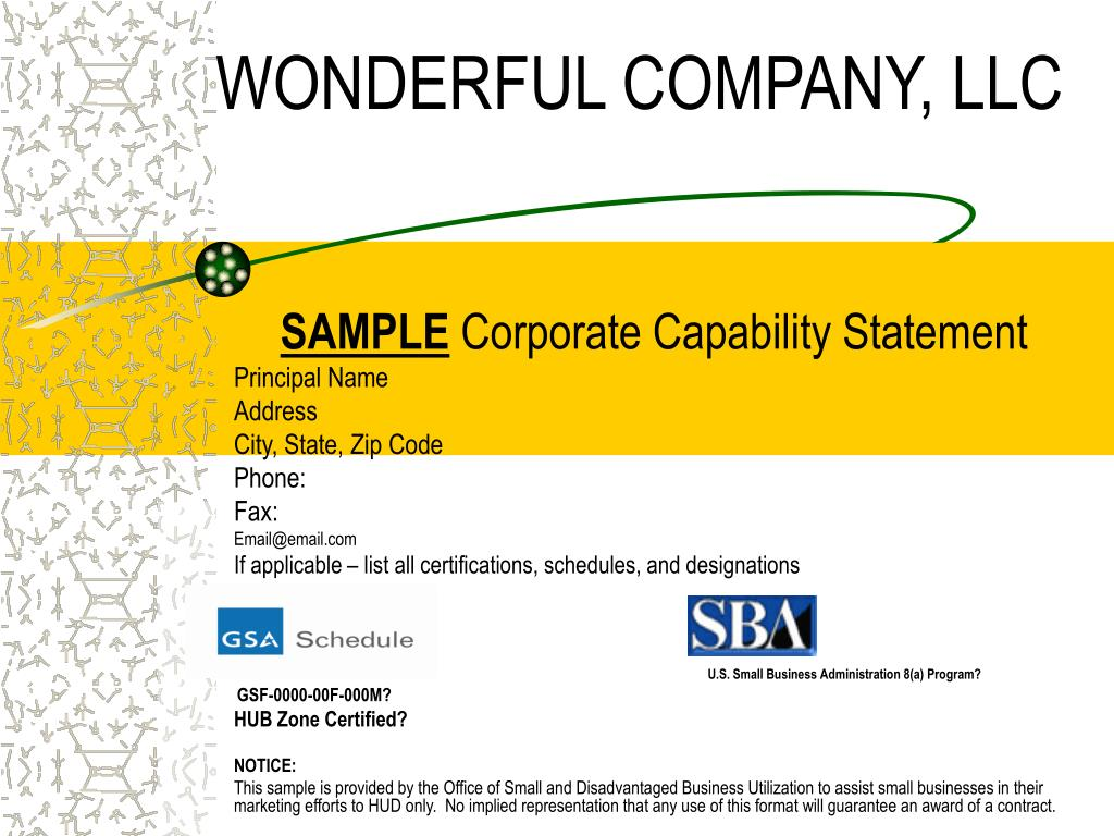 wonderful company llc l.