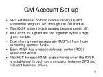 gm account set up
