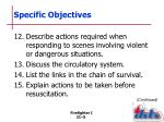 specific objectives6