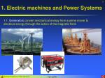 1 electric machines and power systems3