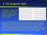 3 the magnetic field26
