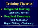 training theories