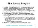the socrata program