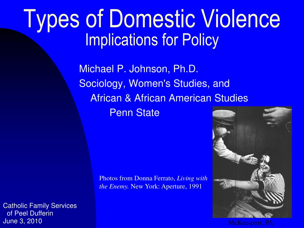 types of domestic violence implications for policy l.