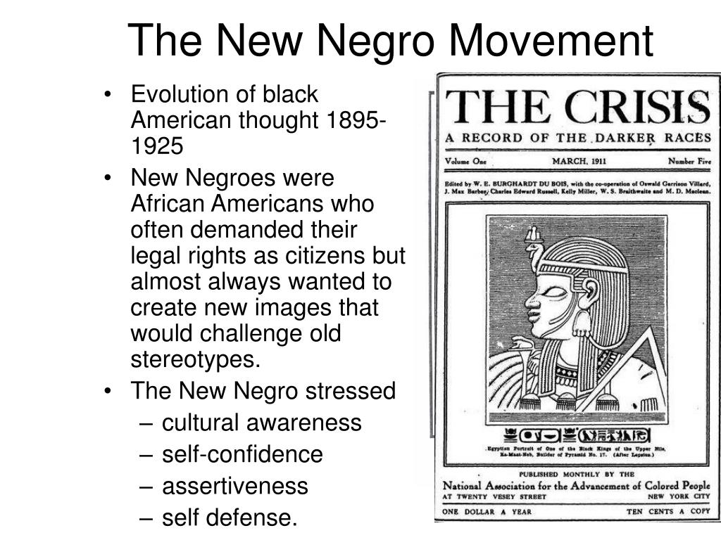 the new negro movement l.