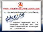 royal arch research assistance10