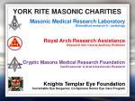 york rite masonic charities