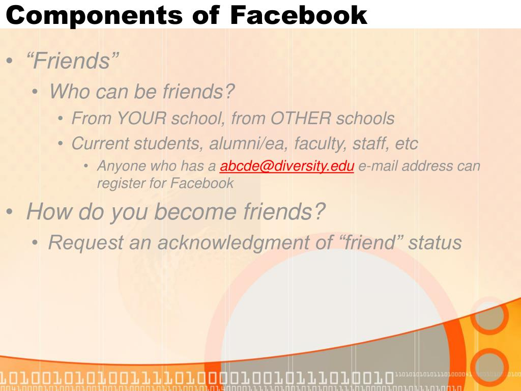 PPT - Facebook and You: PowerPoint Presentation - ID:344221