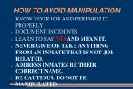 how to avoid manipulation31
