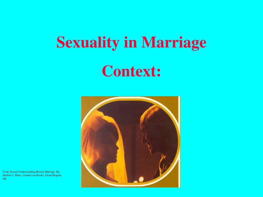 Sexuality in Marriage
