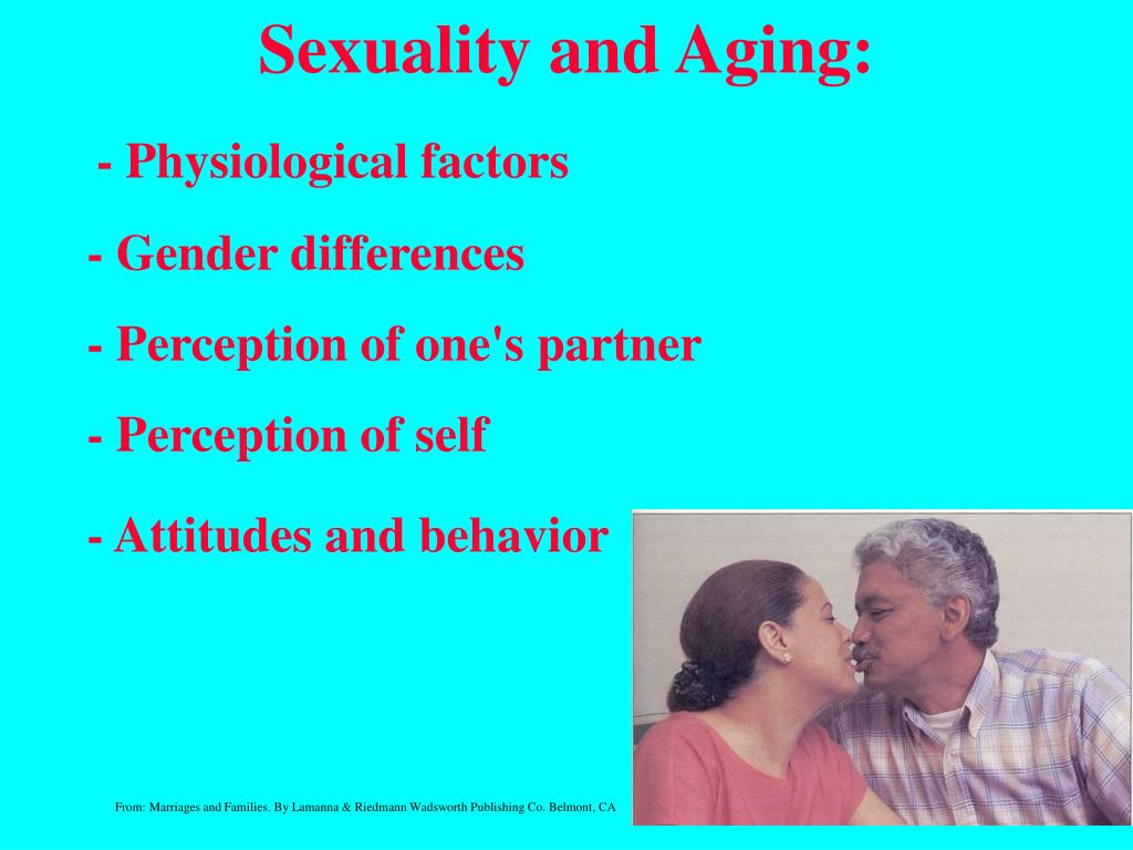 Sexuality and Aging: