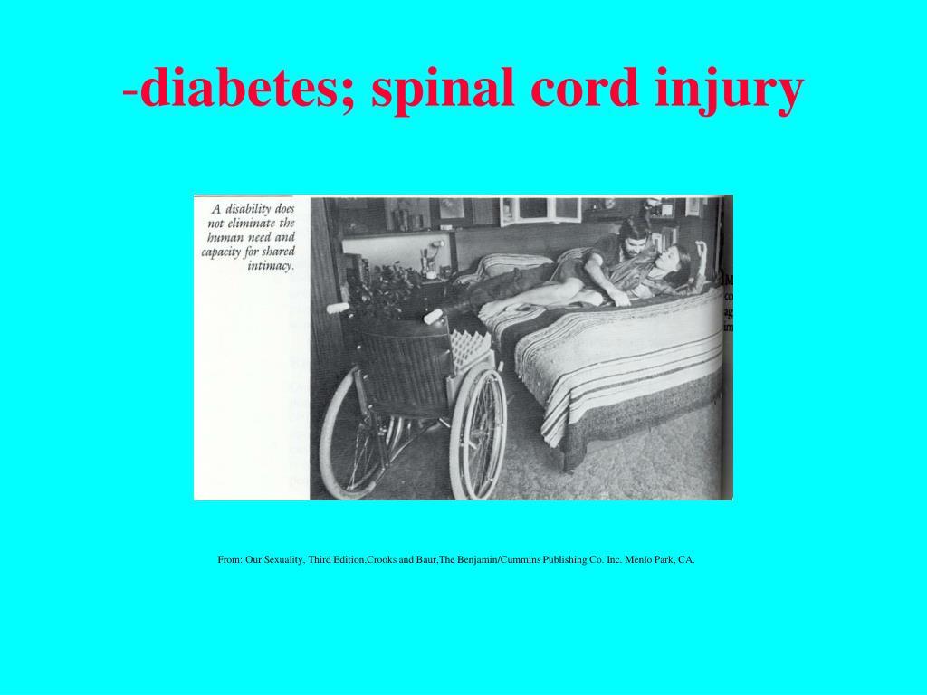 diabetes; spinal cord injury