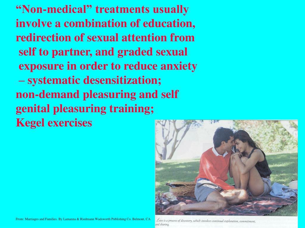 """Non-medical"" treatments usually"