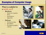 examples of computer usage44