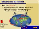 networks and the internet21