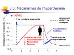 3 3 m canismes de l hyperthermie56