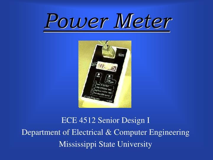 power meter n.