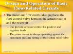 design and operation of basic flow related circuits18