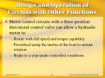 design and operation of circuits with other functions42