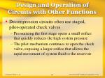 design and operation of circuits with other functions45