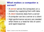 what makes a computer a server