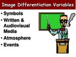 image differentiation variables