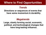 where to find opportunities