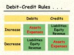 debit credit rules16