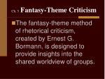 ch 5 fantasy theme criticism