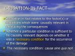 causation in fact