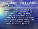 part 5 liability of public other authorities