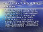 part 5 liability of public other authorities78