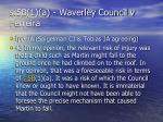 s 5b 1 a waverley council v ferreira9