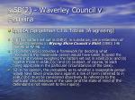 s 5b 2 waverley council v ferreira