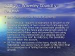 s 5b 2 waverley council v ferreira35
