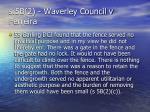 s 5b 2 waverley council v ferreira36