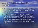 s 5b 2 waverley council v ferreira37