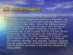 s5i inherent risk