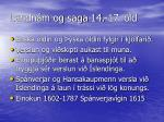landn m og saga 14 17 ld