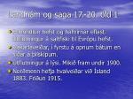 landn m og saga 17 20 ld 1