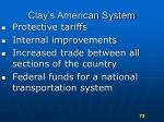 clay s american system
