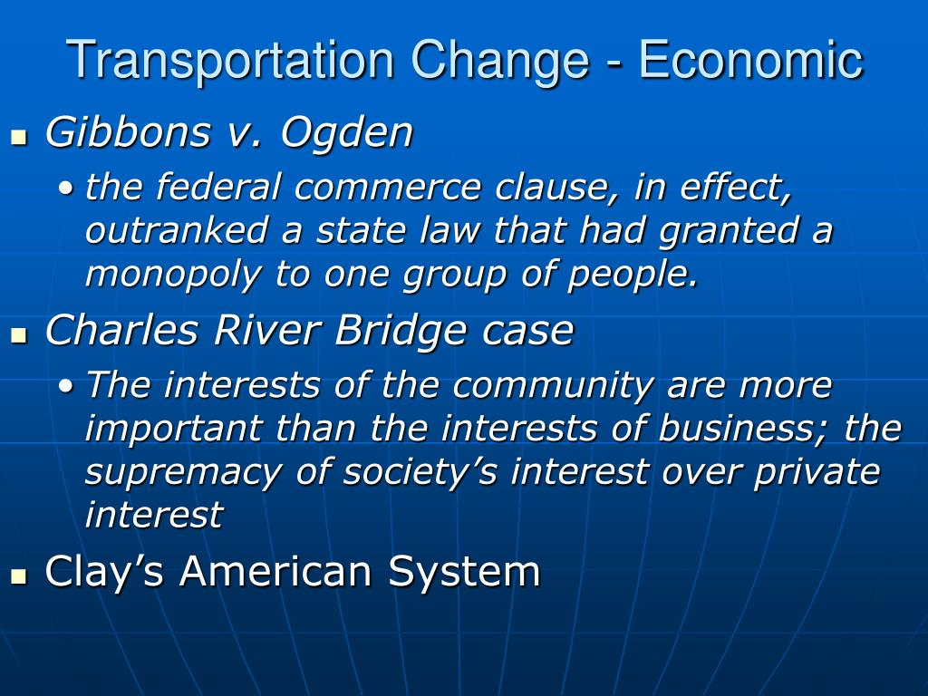 PPT - Transportation and Early Industrialization from 1800 ...