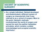 ascent of scientific surgery93
