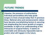 future trends129