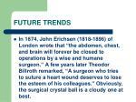 future trends130
